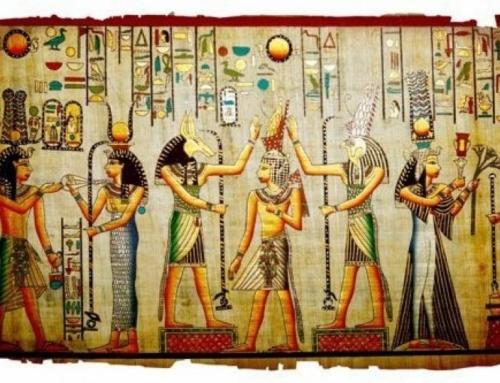Experiência sobre a religião e a crença Egípcia
